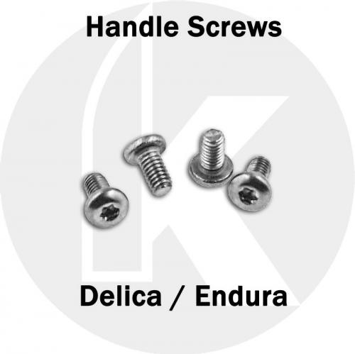 Replacement Handle Screws - Spyderco Delica / Endura - T6