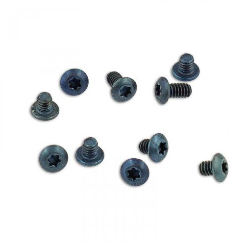 Titanium Replacement Screw Set for Benchmade Bugout 535 Knife - Button Head - T6 - Set of 10
