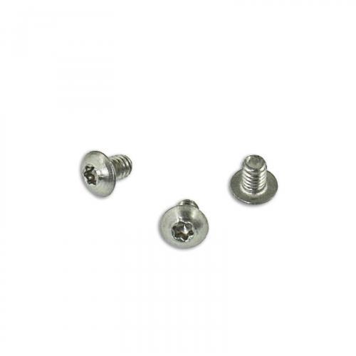 Replacement Clip Screws - Kershaw Leek - Button Head - T6 - Satin