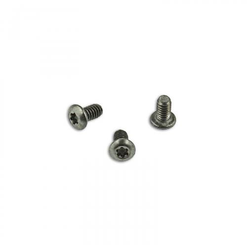 Titanium Replacement Clip Screws for Benchmade Bugout, Bailout, Osborne 940 Knife - Button Head - T6 - Set of 3