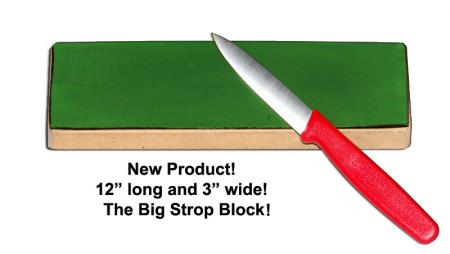 "KNIVES PLUS ® BIG STROP BLOCK, 12"" KP-STROP12"