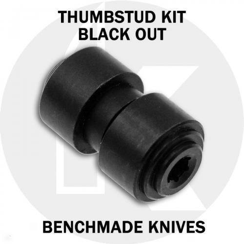 KP Custom Thumbstud for Benchmade Knife - Black Stainless Steel