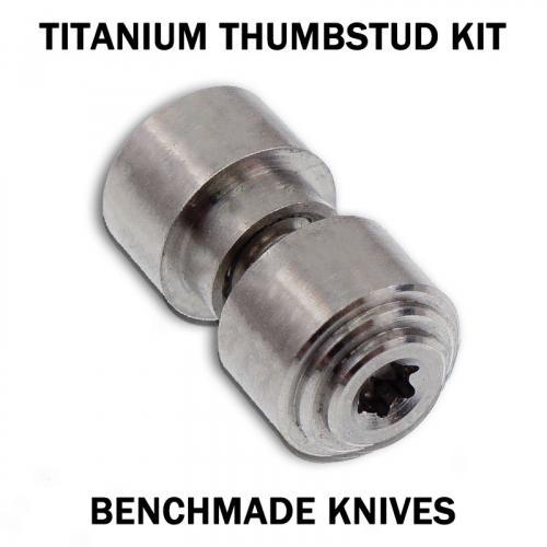KP Custom Titanium Thumbstud for Benchmade Knife