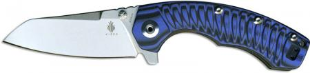 Kizer Tigon, Milled Blue and Black G10, Ki-4450A3