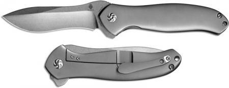 Kizer Bad Dog, Matte Silver Titanium, Ki-5463A1