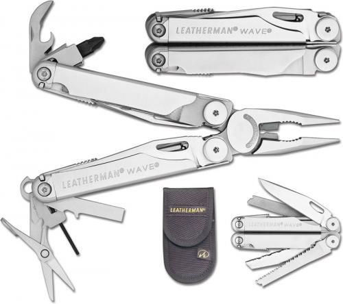 Leatherman Wave Tool, Nylon Sheath, LE-830038