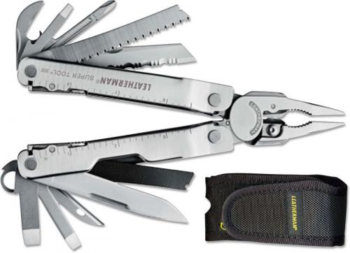 Leatherman Tools: Leatherman Super Tool 300, Nylon, LE-831180