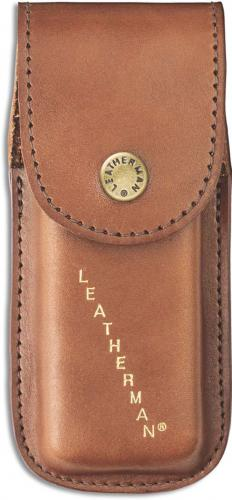 Leatherman Small Heritage Sheath 832593 Brown Leather Fits Rebar, Rev, Wingman, Sidekick Leatherman Tools
