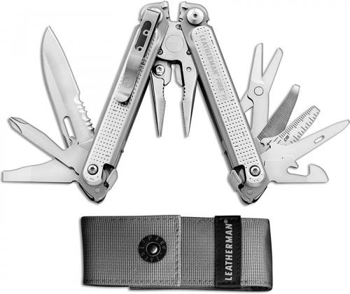 Leatherman FREE P2 Tool 832636 19 Function Multi Tool with Magnetic Architecture USA Made