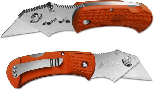 Outdoor Edge B.O.A. - Box Opening Assistant Utility Knife - Orange Handle BOB-10C