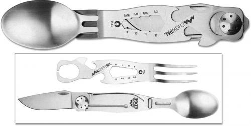 Outdoor Edge ChowPal - Compact Slide Apart Utensil Set 7 Function Multi Tool CPL-10C