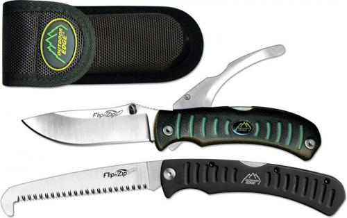 Outdoor Edge Knives: Outdoor Edge Flip N Zip Combo, OE-FC30