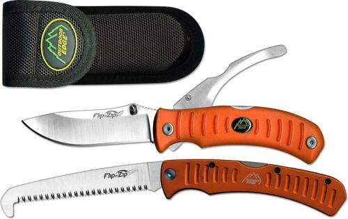 Outdoor Edge Knives: Outdoor Edge Flip N Zip Combo, Blaze, OE-FCB30
