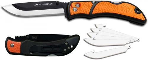 Outdoor Edge Razor Lite EDC, Orange, OE-RLB30C