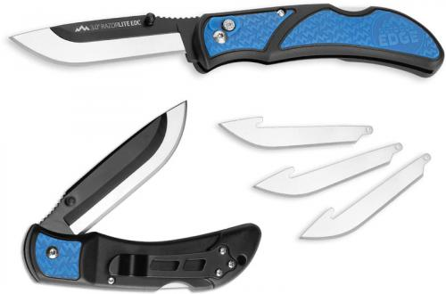 Outdoor Edge Razor Lite EDC 3.0 - Replaceable Blade Knife - Blue Inserts RLU-140
