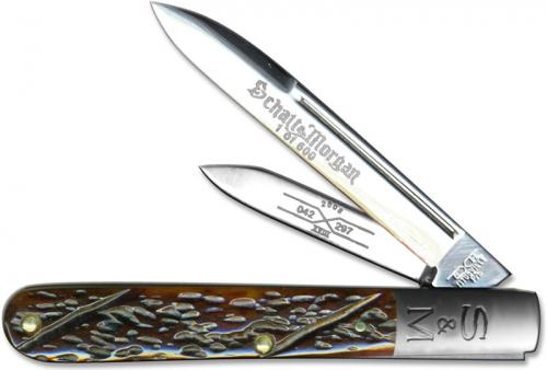 Queen Knives: Schatt & Morgan Series XVIII 2008 Horticulturists Knife, QN-042297
