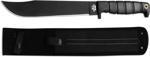 Ontario 8681 SP-5 Survival Bowie Knife Clip Point Fixed Blade Kraton Handle USA Made