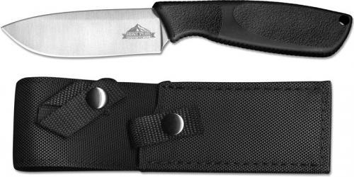 Ontario 9715 HP Drop Point Knife Stainless Steel Fixed Blade Synthetic Rubber Handle USA Made