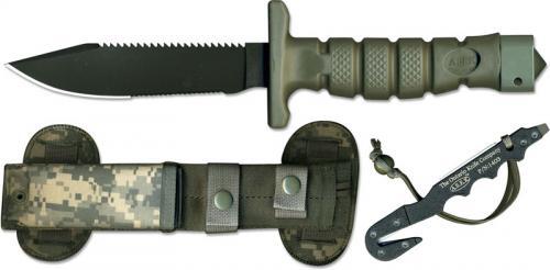 Ontario Knives: Ontario ASEK Survival Knife System, FG/UC Version, QN-ASEKFGUC