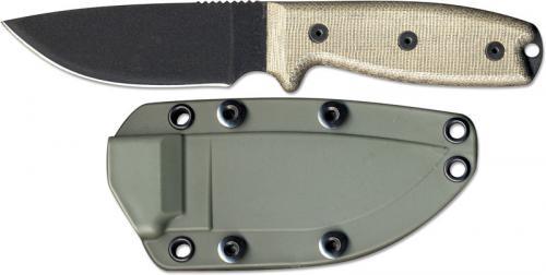 Ontario Knives: Ontario RAT-3 Knife, Green Sheath, QN-RAT3OD