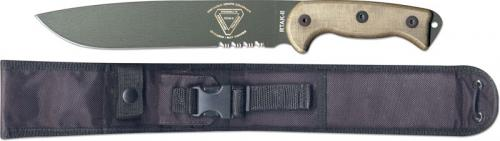 Ontario Knives: Ontario RTAK-II Knife, Part Serrated, QN-RTAK2S