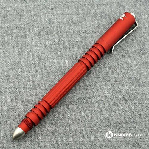 Hinderer Knives Investigator Pen - Aluminum - Red Hard Coated