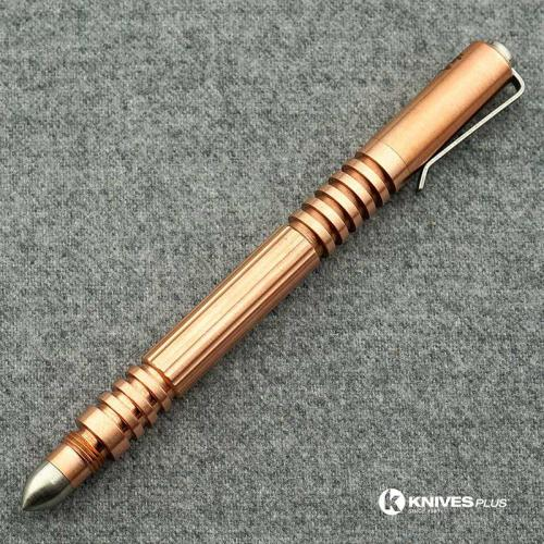 Rick Hinderer Investigator Pen Copper Compact Tactical Pen USA Made