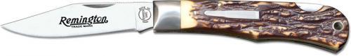 Remington Bullet Knife 1990 - Tracker R1306 - Faux Staglon Handle - USA Made - OLD NEW STOCK - BNIB