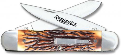 Remington Bullet Knife 1993 - Bush Pilot R-4356 - Faux Staglon Handle - USA Made - OLD NEW STOCK - BNIB