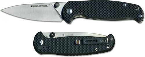 Real Steel 7611 H6 Elegance EDC Liner Lock Folding Knife G10 Carbon Fiber Laminate