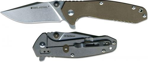 Real Steel H5 Knife, Brown G10, RS-7754