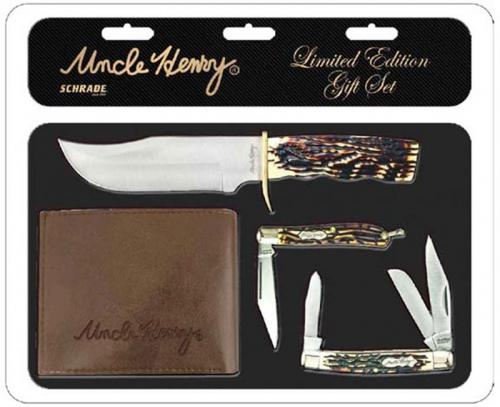 Uncle Henry 2018 Limited Edition 3 Piece Set with Wallet - 1085956