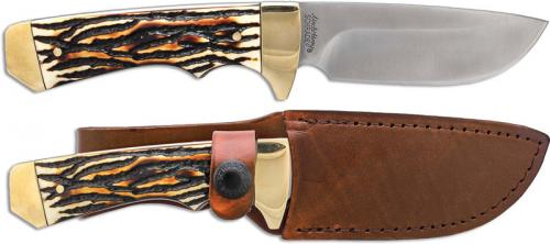 Uncle Henry Elk Hunter Knife, Drop Point, SC-182UH