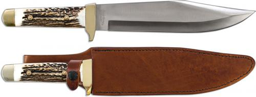 Uncle Henry Bowie Knife, Stag, SC-184STUH