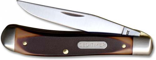 Old Timer Knives: Gunstock Trapper Lockblade Old Timer Knife, SC-194OT