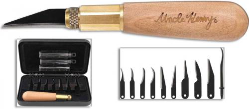 Uncle Henry 22UH Deluxe Wood Carving Kit