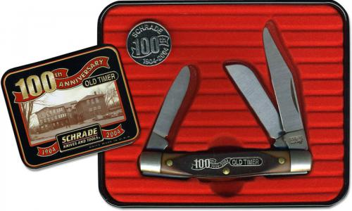 Old Timer Middleman Knife - A34OT - Limited Centennial Edition Tin Set - USA Made - OLD NEW STOCK - BNIB