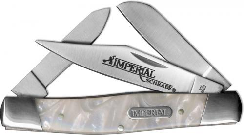 Schrade Imperial Stockman, White Cracked Ice, SC-IMP14L