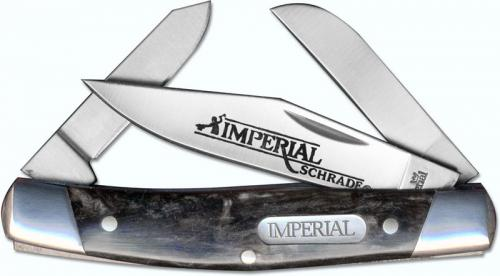 Schrade Imperial Medium Stockman, Dark Red Swirl, SC-IMP16S