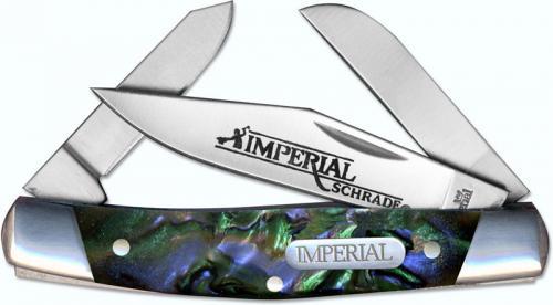 Schrade Imperial Small Stockman, Purple Swirl, SC-IMP19PRS