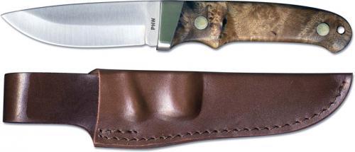 Schrade Knives: Schrade Pro Hunter Knife, Desert Ironwood, SC-PHW