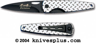 Schrade Knives: Schrade Viper Knife, 4 by 4, SC-SQ247