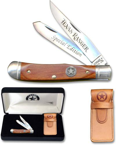 Schrade Texas Ranger Commemorative TXR4 - Limited Edition - Trapper - USA Made - DISCONTINUED ITEM - OLD NEW STOCK - BNIB