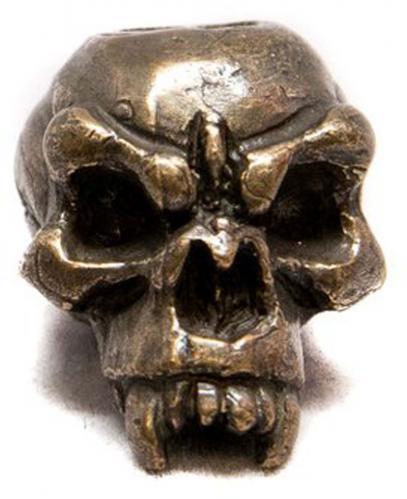 Schmuckatelli Fang Solid Bronze Premium Bead - Oil Rubbed Finish - FORBO