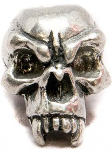 Schmuckatelli Fang Pewter Bead - Pewter Finish - FP