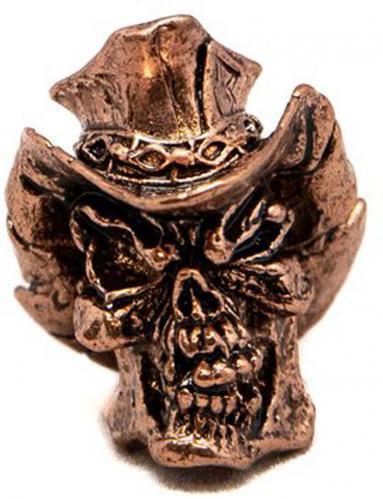 Schmuckatelli Vinnie Garoon Pewter Bead - Antique Copper Finish - VGAC