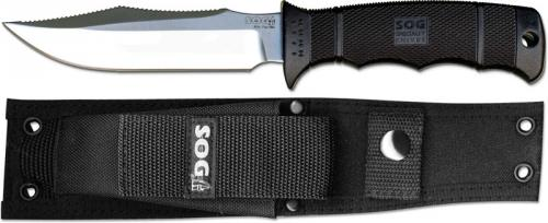 SOG Knives: SOG SEAL Pup Elite Knife, Satin Finish, SG-E37