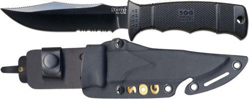 SOG Knives: SOG SEAL Pup Elite Knife, Kydex Sheath, SG-E37TK