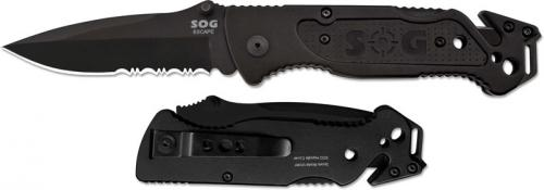 SOG Escape, Black, SG-FF25