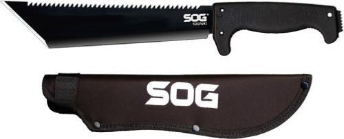 SOG SOGfari Machete, Small Tanto, SG-MC04N